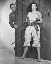 This is an image of 172555 Bob Hope and Jane Russell Photograph & Poster