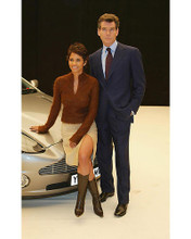 This is an image of 254905 Halle Berry & Pierce Brosnan Photograph & Poster