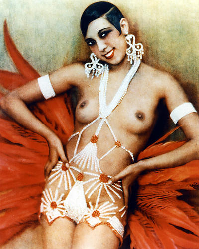 This is an image of 255185 Josephine Baker Photograph & Poster