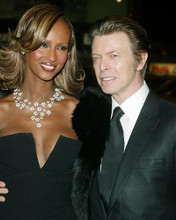 This is an image of 255635 David Bowie and Iman Photograph & Poster