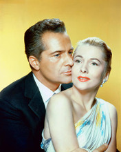 This is an image of 255926 Rossano Brazzi & Joan Fontaine Photograph & Poster