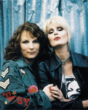 This is an image of 255985 Joanna Lumley and Jennifer Saunders Photograph & Poster