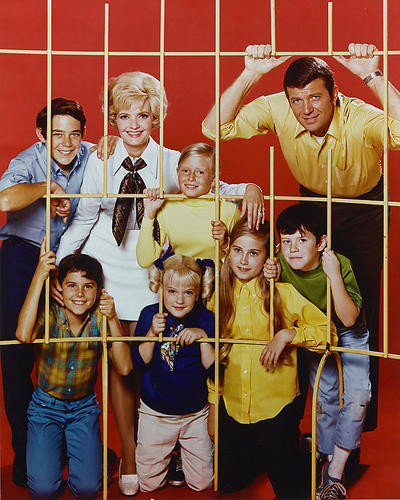 This is an image of 256136 The Brady Bunch Photograph & Poster