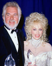 This is an image of 256261 Kenny Rogers and Dolly Parton Photograph & Poster