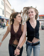 This is an image of 258818 Evan Rachel Wood and Nikki Reed Photograph & Poster