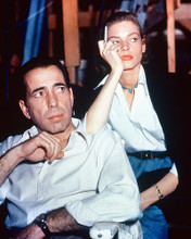 This is an image of 263743 Humphrey Bogart & Lauren Bacall Photograph & Poster