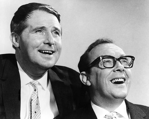 This is an image of 178492 Eric Morecambe & Ernie Wise Photograph & Poster