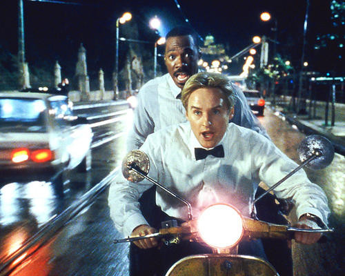 This is an image of 253621 Eddie Murphy & Owen Wilson Photograph & Poster