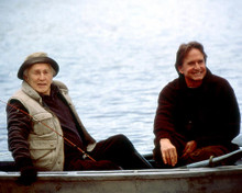 This is an image of 255249 Michael Douglas & Kirk Douglas Photograph & Poster