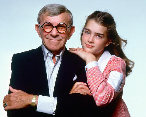 This is an image of 256275 Brooke Shields and George Burns Photograph & Poster