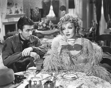 This is an image of 172809 James Stewart and Marlene Dietrich Photograph & Poster