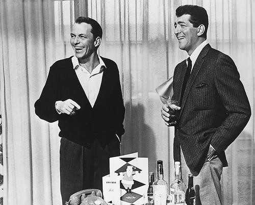 This is an image of 175196 Frank Sinatra & Dean Martin Photograph & Poster