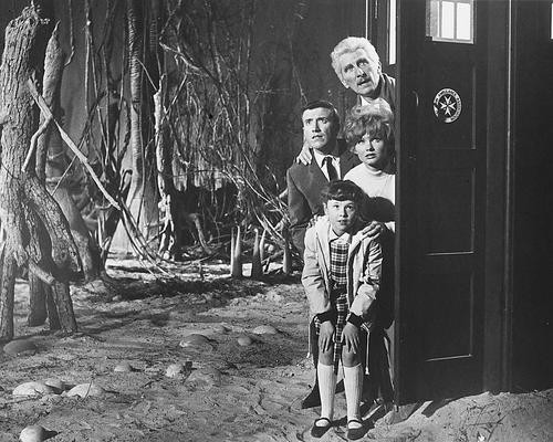 This is an image of 176995 Dr. Who and the Daleks Photograph & Poster