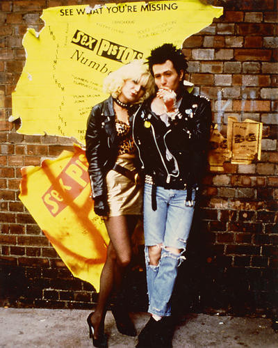 This is an image of 265689 Sid & Nancy Photograph & Poster