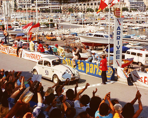 This is an image of 269670 Herbie Goes to Monte Carlo Photograph & Poster