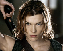 This is an image of 269696 Milla Jovovich Photograph & Poster