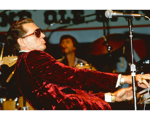 This is an image of 269753 Jerry Lee Lewis Photograph & Poster