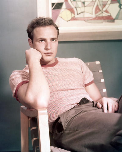 This is an image of 271451 Marlon Brando Photograph & Poster