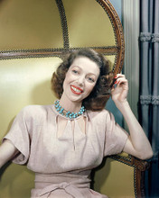 This is an image of 271877 Loretta Young Photograph & Poster