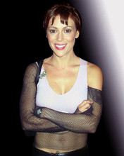 This is an image of 271669 Alyssa Milano Photograph & Poster