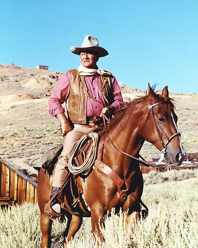 This is an image of 274131 John Wayne Photograph & Poster