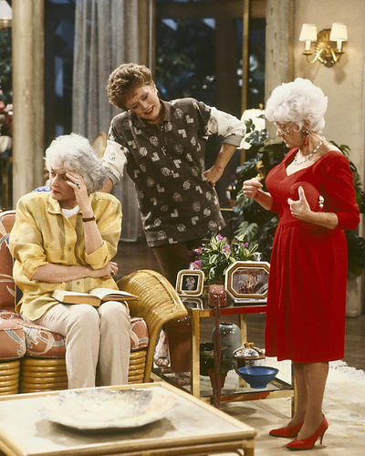 This is an image of 275214 The Golden Girls Photograph & Poster