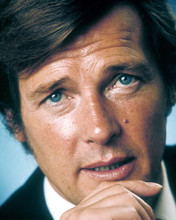 This is an image of 276860 Roger Moore Photograph & Poster
