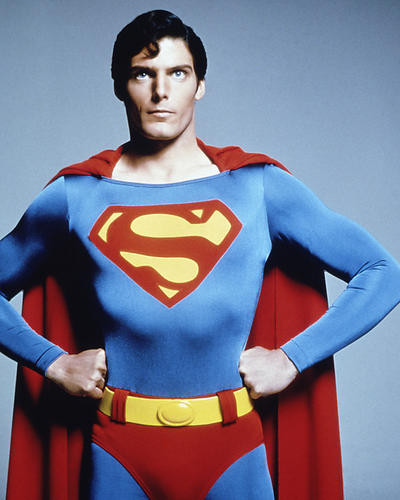 This is an image of 277090 Christopher Reeve Photograph & Poster