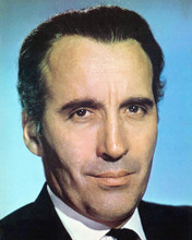 This is an image of 277201 Christopher Lee Photograph & Poster