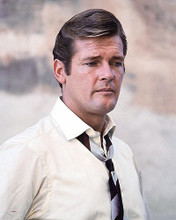 This is an image of 277807 Roger Moore Photograph & Poster