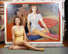 This is an image of 271584 Rita Hayworth Photograph & Poster