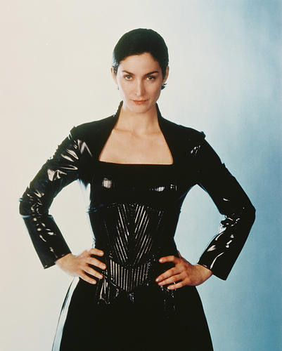 This is an image of 238078 Carrie-Anne Moss Photograph & Poster