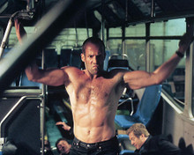This is an image of 253912 Jason Statham Photograph & Poster