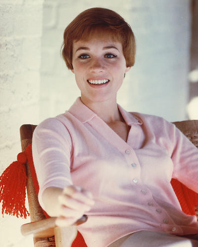 This is an image of 256118 Julie Andrews Photograph & Poster