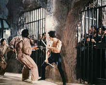 This is an image of 212103 Bruce Lee Photograph & Poster