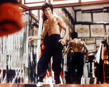 This is an image of 227007 Bruce Lee Photograph & Poster