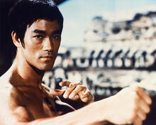 This is an image of 247819 Bruce Lee Photograph & Poster