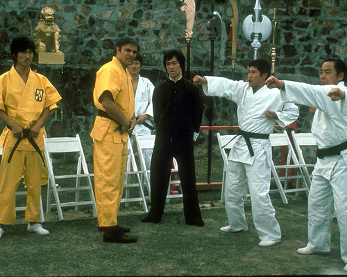 This is an image of 256783 Bruce Lee Photograph & Poster