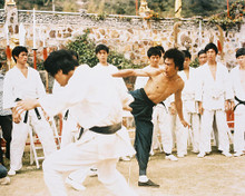 This is an image of 211658 Bruce Lee Photograph & Poster