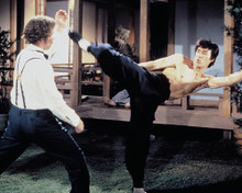This is an image of 259061 Bruce Lee Photograph & Poster