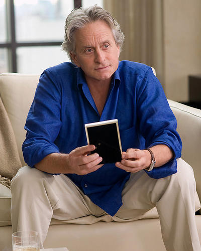 This is an image of 282152 Michael Douglas Photograph & Poster