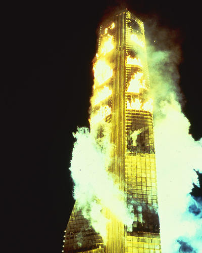 This is an image of 282489 The Towering Inferno Photograph & Poster