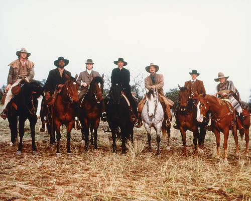 This is an image of 282539 The Magnificent Seven Photograph & Poster