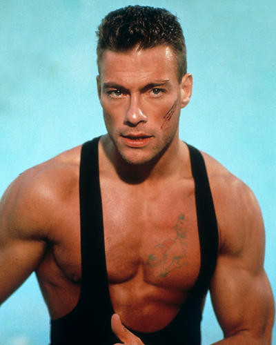 This is an image of 282740 Jean-Claude Van Damme Photograph & Poster