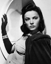 This is an image of 193441 Gene Tierney Photograph & Poster