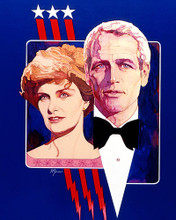 This is an image of 282848 Paul Newman and Joannne Woodward Photograph & Poster