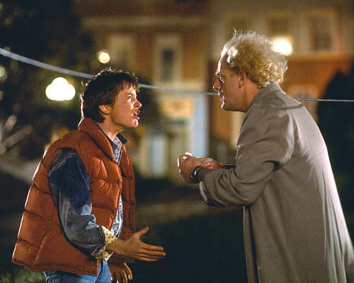 This is an image of 283040 Back to the Future Photograph & Poster