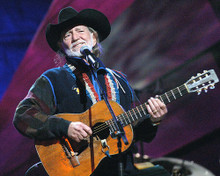 This is an image of 283085 Willie Nelson Photograph & Poster
