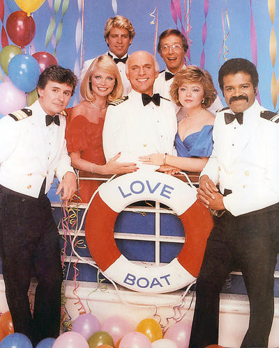 This is an image of 283566 The Love Boat Photograph & Poster