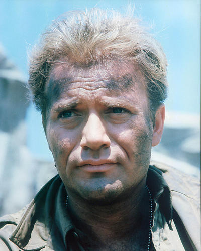 This is an image of 283567 Vic Morrow Photograph & Poster